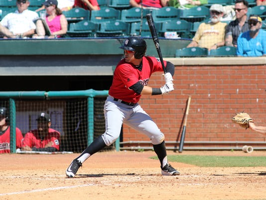 April 24, 2016:   Birmingham Barons at Chattanooga Lookouts