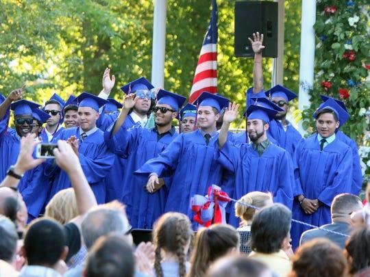 The Dunellen High School Graduation was held on Friday,