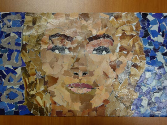 Mosaic by Anna Marie Reid, eighth grade, Valley Springs