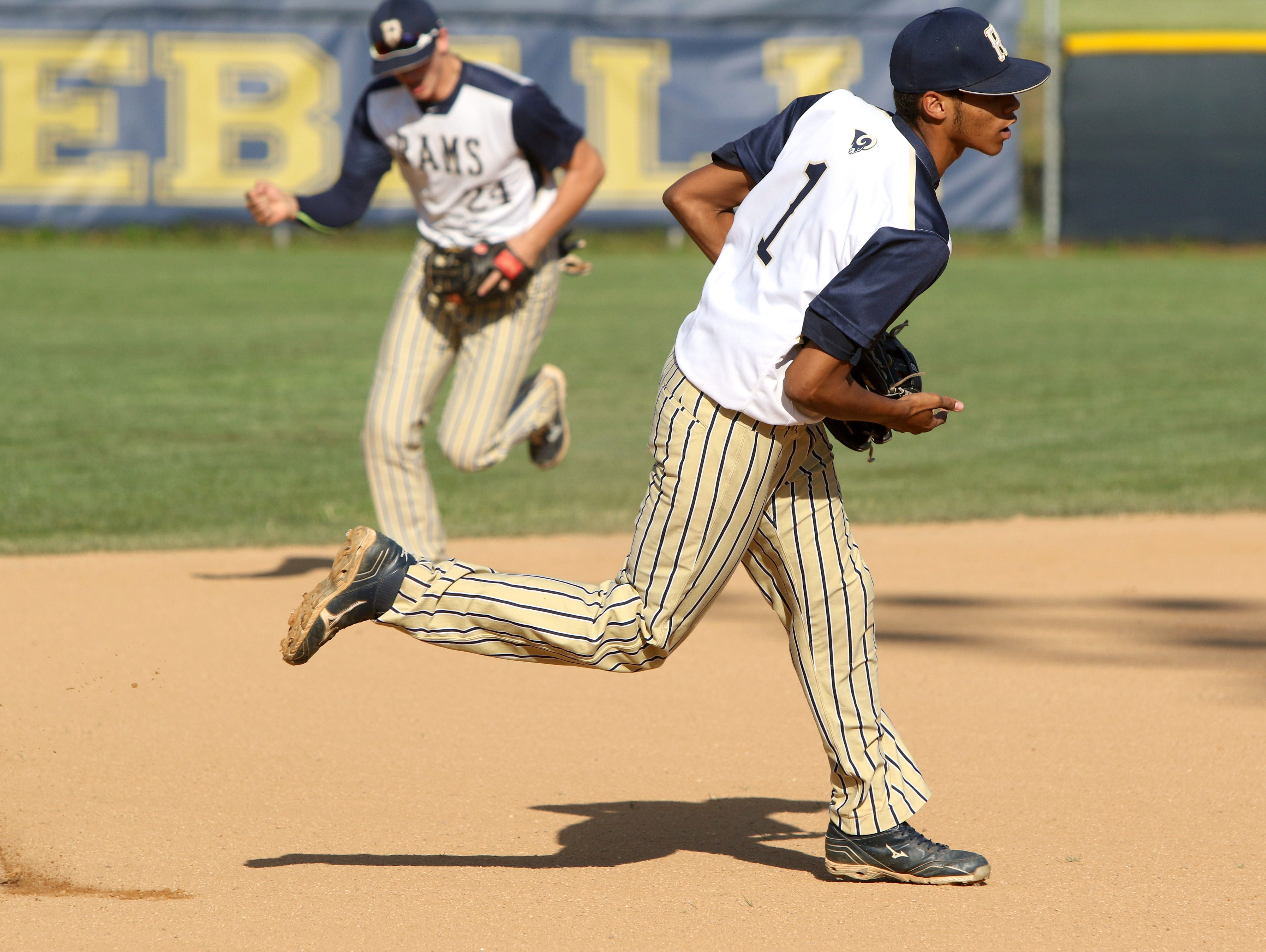 Roberson rising senior Collin Watt (1) has committed to play college baseball for East Carolina.