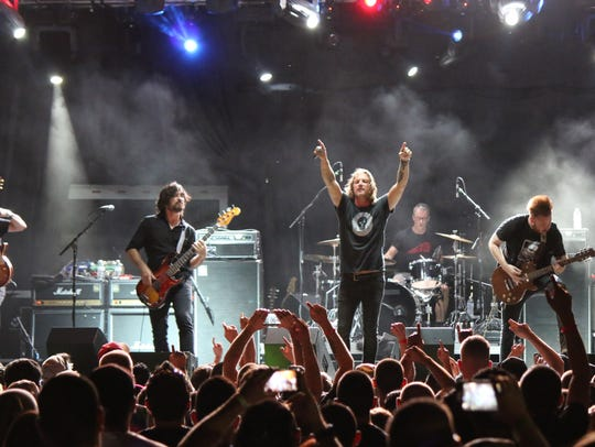 Candlebox headlined last year's Rock the Fort concert.