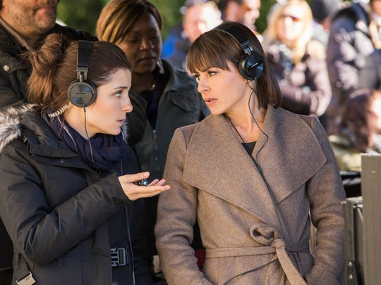 Constance Zimmer and Shiri Appleby in Lifetime's  UnREAL,