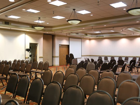 The inside of one of seven Red Lion conference rooms. The Red Lion has 5,000 square feet of indoor conference space.