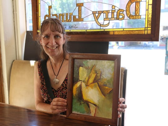 Artist Cynthia Herron will open her home studio for a tour in September.