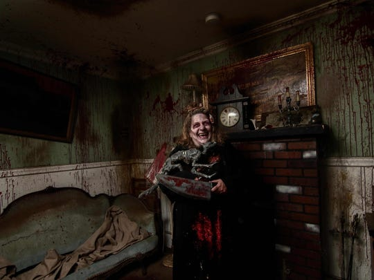 When you check-in at Frightland, you just might check-out as well.