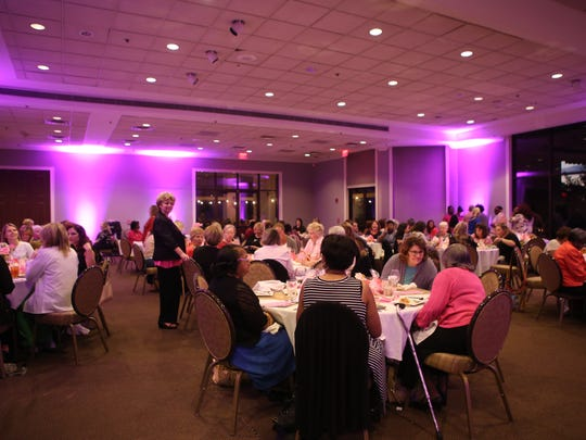 "Kirkland Cancer Center hosted their annual ""This One's for the Girls"" Breast Cancer Awareness event Tuesday."