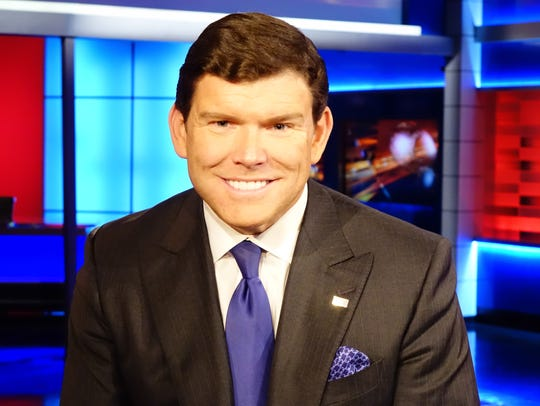 Fox News Channel anchor Bret Baier, photographed in the network's New York City headquarters.