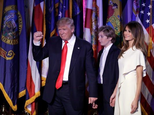 AP APTOPIX 2016 ELECTION TRUMP A ELN USA NY