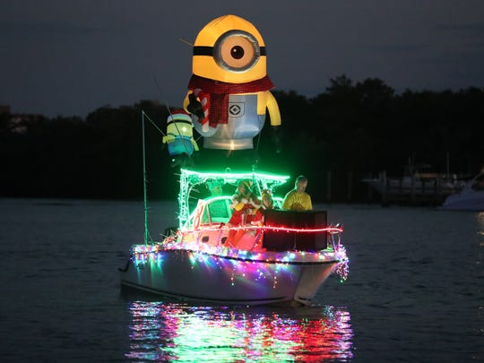 There will be a holiday boat parade every weekend beginning with Saturday's Fort Myers Beach Christmas Boat Parade.