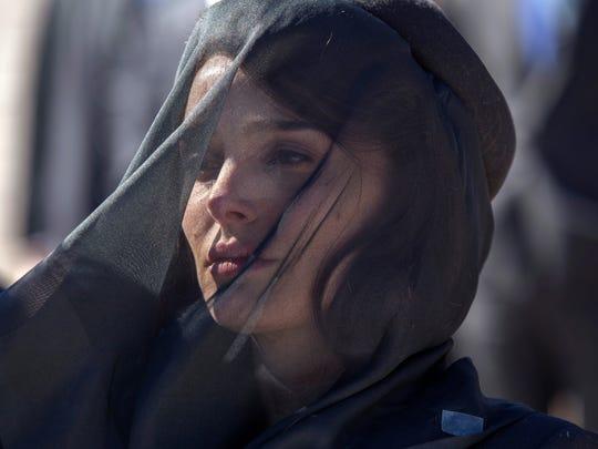 """Natalie Portman portrays Jackie Kennedy in """"Jackie."""""""