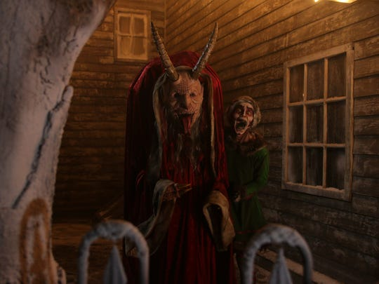 Krampus, the mythical beast who terrorizes naughty children at Christmas, will be the main attraction at Terror on the Fox's Krampus: A Haunted Christmas on Friday and Saturday.