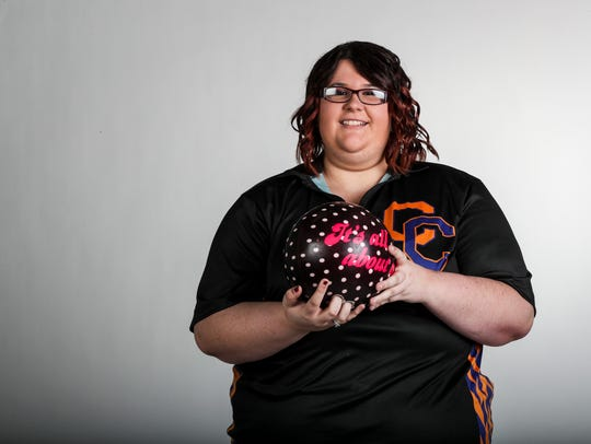 Kaela Ruby, Cape Coral - Bowling. All-Area fall Athlete