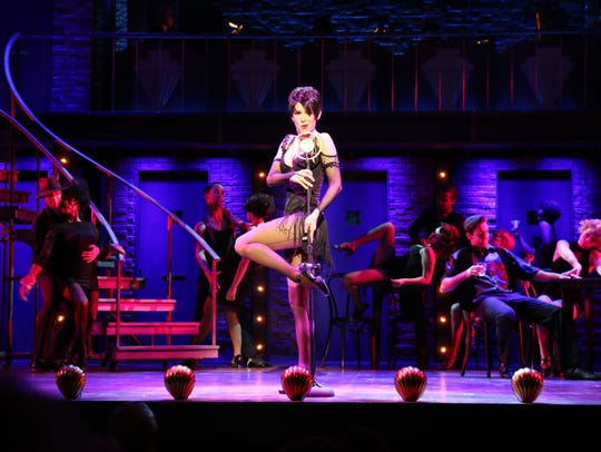 "Heather Parcells stars as Velma Kelley in ""Chicago,"""