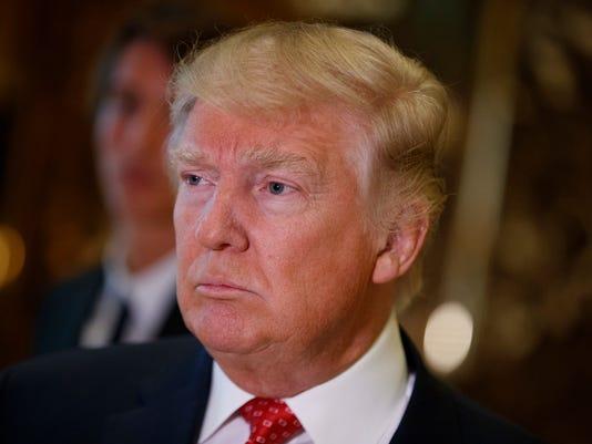 AP TRUMP TWEETS A USA NY