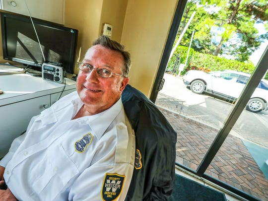 Dan Makowski lives in Cape Coral and works in Bonita Springs as a security guard. He ponders the fate of his health insurance and life under a Donald Trump administration.