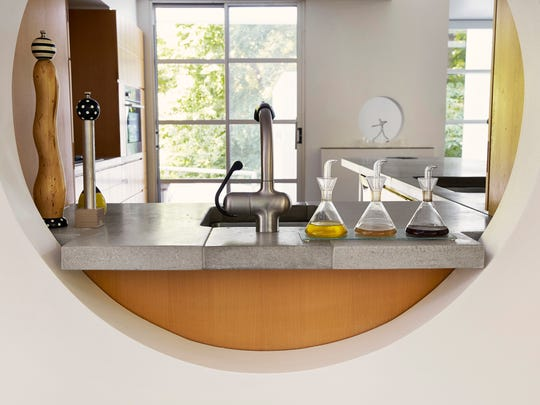 Phenix Marble can be used on countertops, outdoor kitchens,