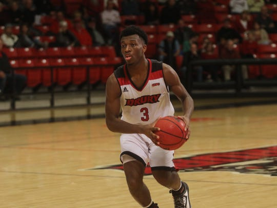 Drury guard Cameron Ricks
