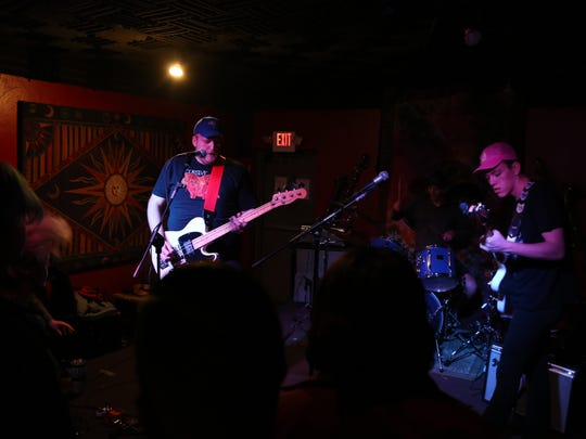 Telestial performs at Jazzy's Rock 'n' Roll Grill on