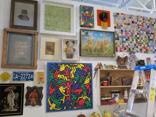 """""""RAIR: Filty Rich"""" exhibits art made of trash at The"""