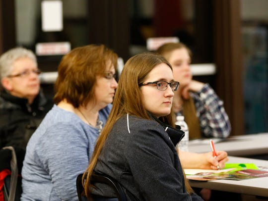 Students and parents in central Wisconsin attended