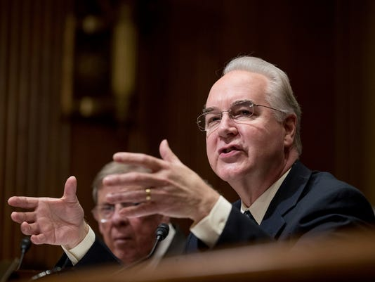 Tom Price, Johnny Isakson