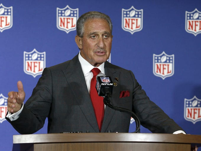 Atlanta Falcons owner Arthur Blank talks about his
