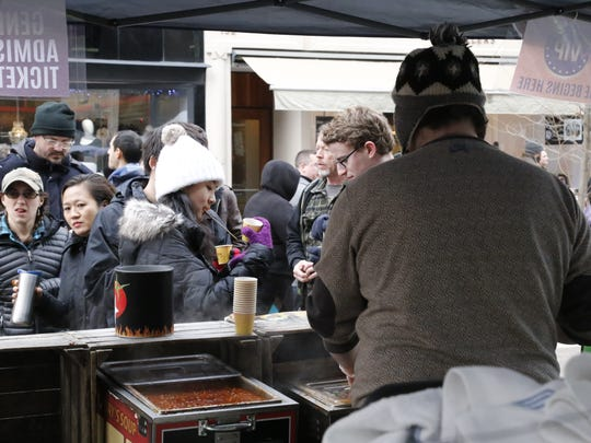 The Downtown Ithaca Chili Cook-Off on Saturday, Feb.