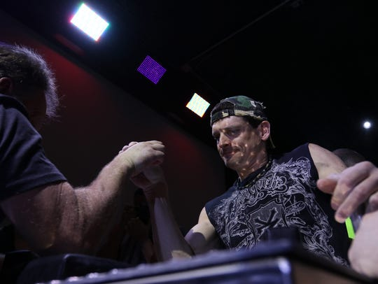 The Wisconsin State Arm Wrestling Championship will