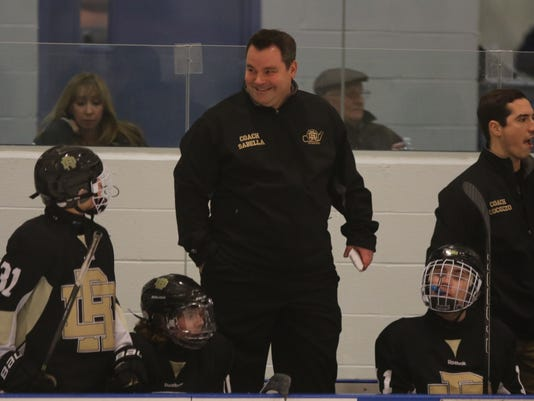River Dell  -- Boys Hockey
