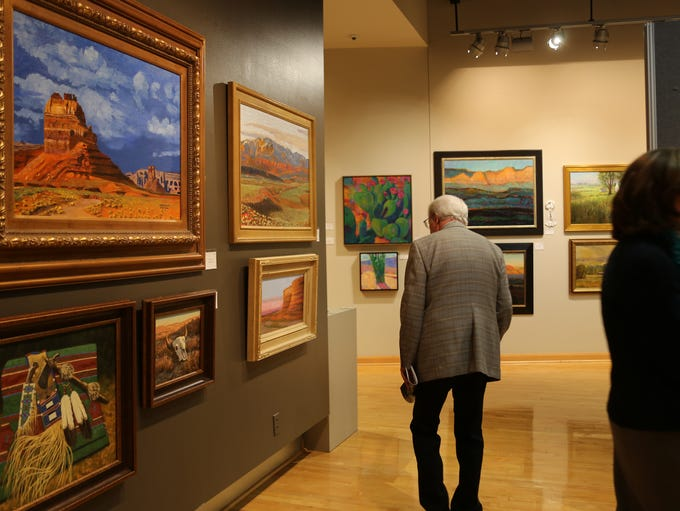 Artists and community members gather at the 30th annual