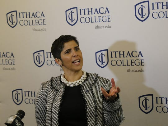 Shirley Collado is the new president of Ithaca College.