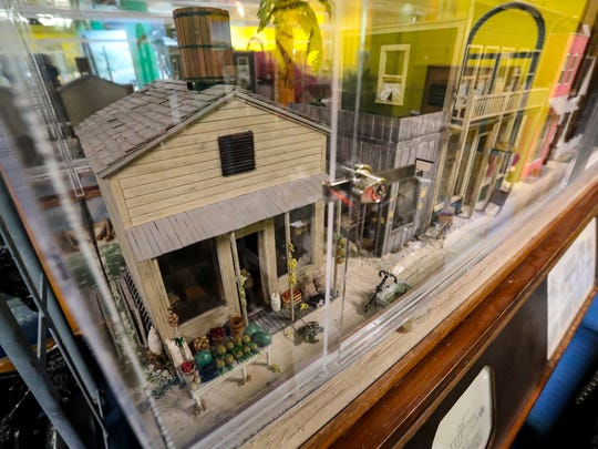 A replica for first street back when the city was first built. The Imaginarium and the Southwest Florida History Museum have begun to move in together and melded their exhibits. Matt Johnson, Executive Director, is working to get the historical exhibit up and on display.