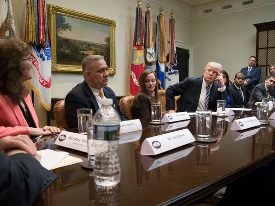 President Trump attends a meeting on health care with