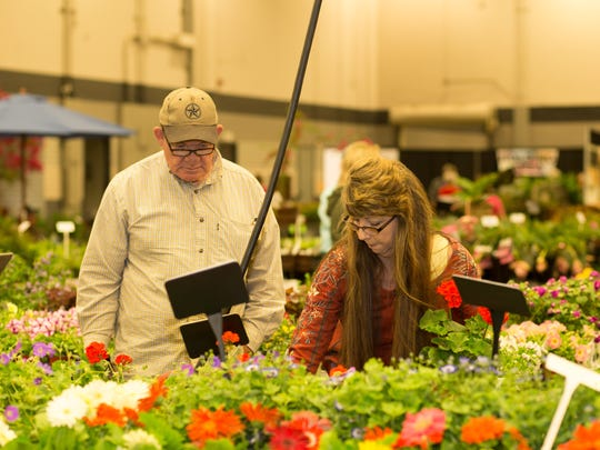 Betty, right, and Kenny Wood make their spring picks