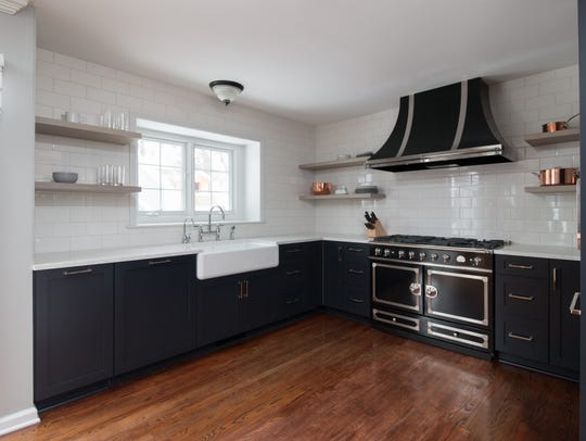 This Plymouth kitchen was remodeled by the Sharer Design