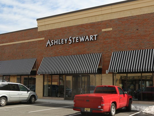 This is the exterior of the new Ashley Stewart store