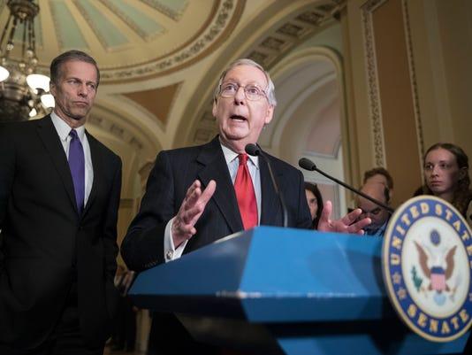 Senate Republican leadership news conference