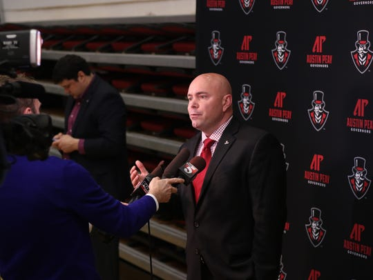 New coach of Austin Peay basketball Matt Figger talks