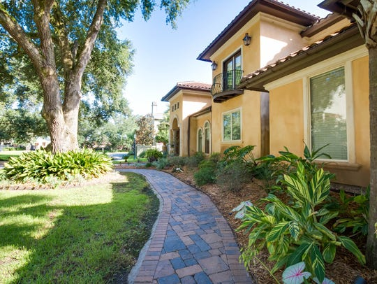 This home is located in the private, gated community