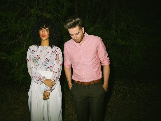 "Monica Martin, formerly of PHOX, collaborated with producer and composer Violents (birth name Jeremy Larson) on a new album out Friday, ""Awake and Pretty Much Sober."""