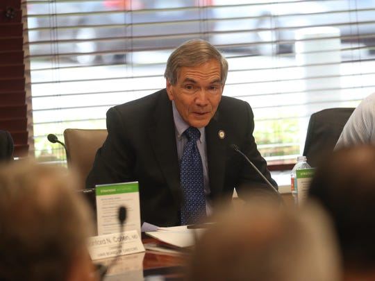 Lee Health's President and CEO, Jim Nathan is stepping down as CEO of the system. He made the announcement to the Lee Health Board of Directors on Thursday.