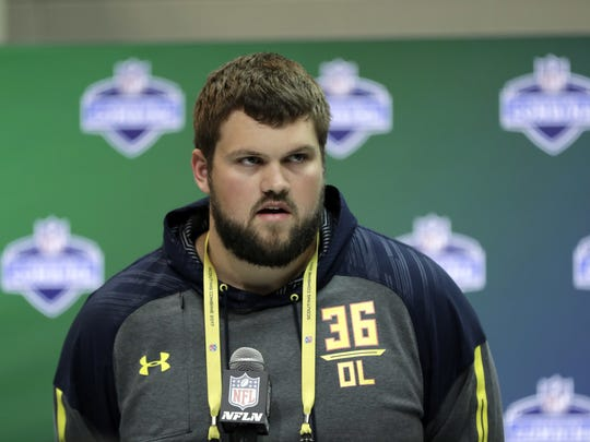 New Orleans will be the next stop on University of Wisconsin junior offensive tackle Ryan Ramczyk's football journey after the Saints selected him with the 32nd pick of the first round of the 2017 NFL Draft last week.