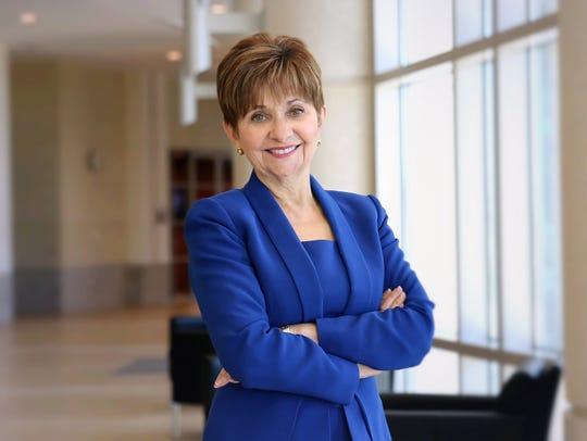 Dr. Deborah German is the founding dean of the University