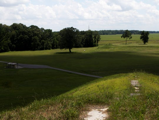 Poverty Point is the site of ancient earthworks created