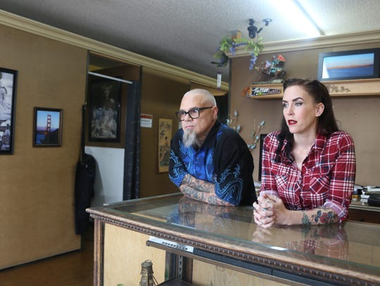 Adam and Melini Roettger say local property owners