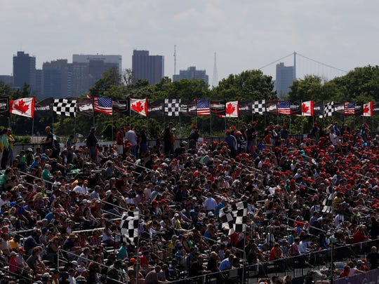 The fans are the ones that win with seven races in three days at Belle Isle.