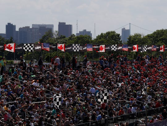 The fans are the ones who win with seven races in three