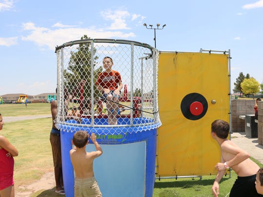 Fort Bliss will have its Aquapalooza event on June