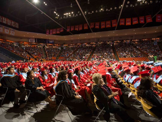 Socorro High School class of 2017 held its graduation at the Don Haskins Center on Friday, June 2.