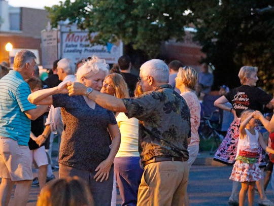 Put on your dancing shoes on the first Friday of each month from June through September for Friday Night Live concerts.